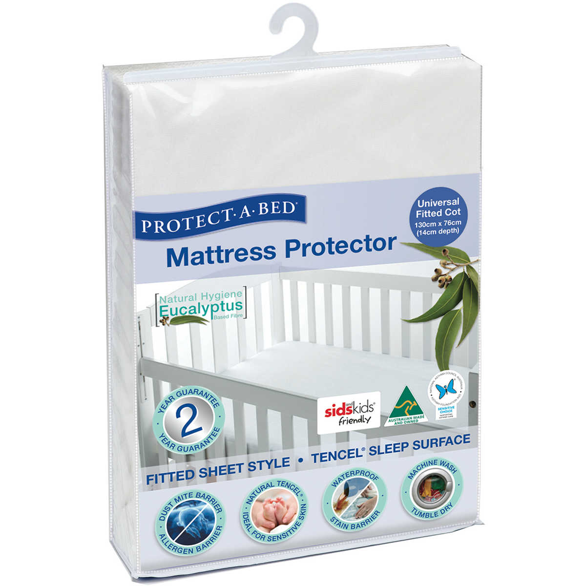 Tencel Cot Mattress Protector Waterproof